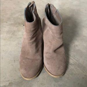Very worn Nordstrom booties